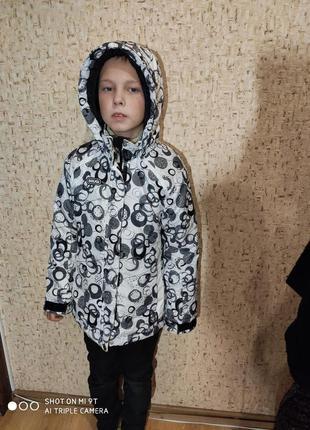 Лыжная куртка 134-140 размер италия