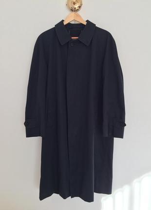 Темно- синій тренч burberry, оригінал унісекс вінтаж овесайз