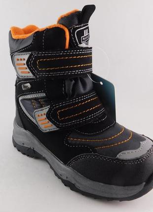 ❄  зимние термо ботинки для мальчиков 👨 , размеры 30, 31, 32 ( 19,5 - 21,0 см)
