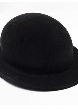 Шляпа легкий котелок фетровая