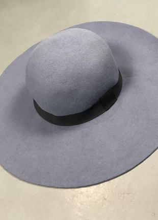 Шляпа asos с широкими полями