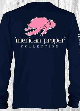 Лонгслисв от бренда merican proper