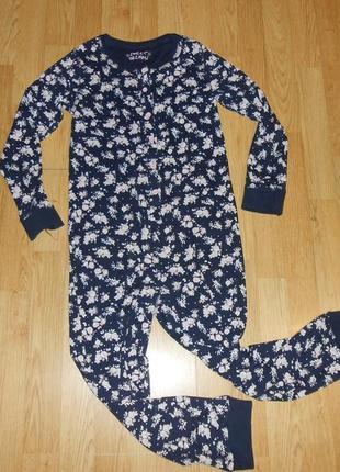 Пижама-человечек на девочку 10-11 лет