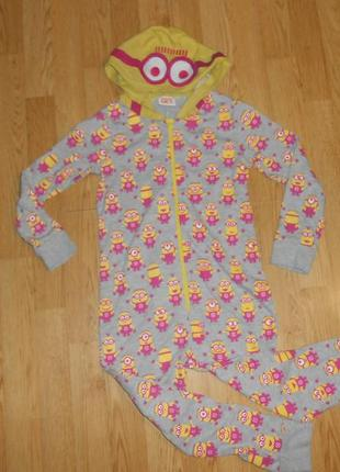 Пижама-человечек на девочку 6-7 лет