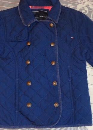 Куртка на стильную девочку tommy hilfiger