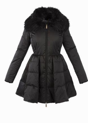 Пуховик куртка пальто elisabetta franchi
