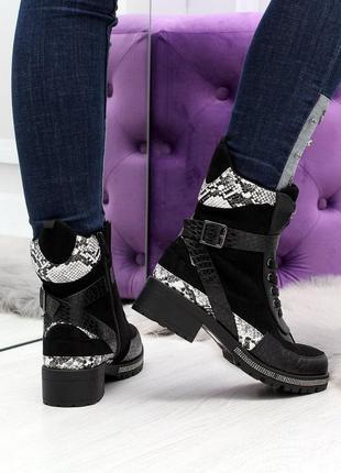 Зимние женские ботинки шикарные