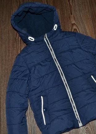 Курточка зимняя сост отл мальчику 5л dunnes stores