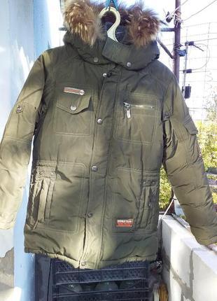 Зимняя куртка danilo на мальчика.