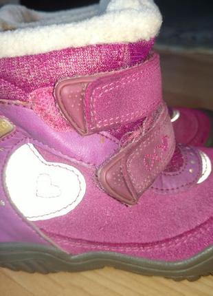 Теплющие термо - ботинки для малышки