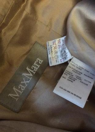Плаще тренч max mara оригинал италия размер 38-40(8)s-m