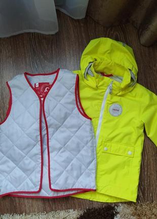 Супер крутая куртка reima taag (521481-2350)