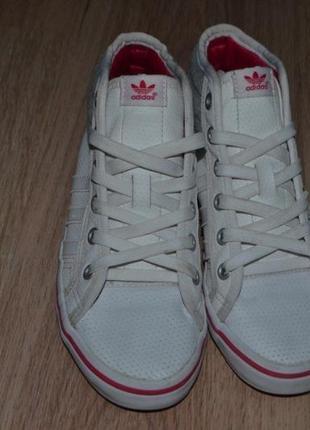 Кроссовки хайтопы девочке adidas