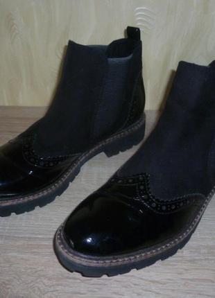 Ботинки челси marco tozzi (марко тоцци)
