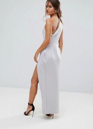 Полная ликвидация вечерних платьев!!! платье макси с большим разрезом