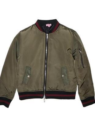 Распродажа демисезонная куртка хаки для девочки, ovs kids, 6747670