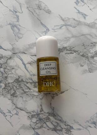Гидрофильное масло dhc deep cleansing oil 30 мл