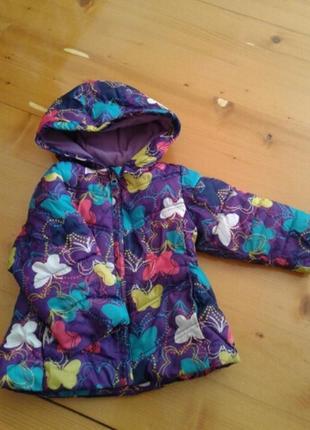 Курточка на дівчинку 18 міс. осінь_весна
