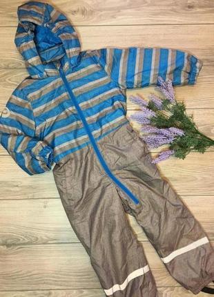 Зимний финский комбинезон peuhu рост 110см.