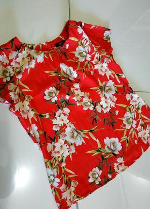 Блуза, кофточка красная