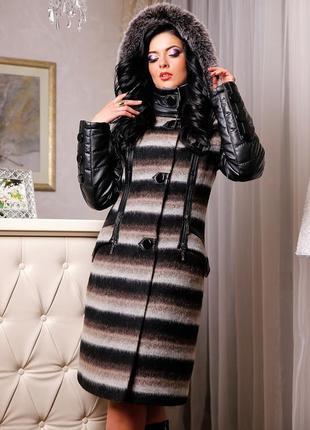 Зимнее пальто favoritti п-843 р. 48