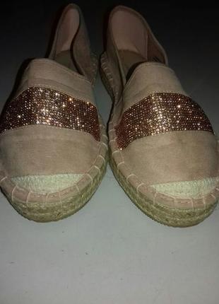 Мокасины,балетки 'dorothy perkins', новые, размер 39