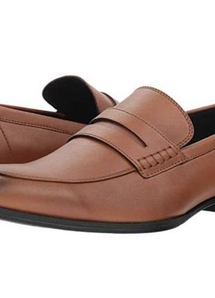 Туфли кожаные calvin klein оригинал  40 р. на ногу 25-25,5 см1 фото