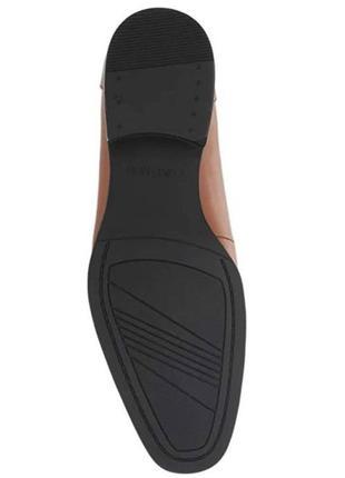 Туфли кожаные calvin klein оригинал  40 р. на ногу 25-25,5 см2 фото