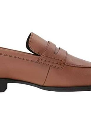Туфли кожаные calvin klein оригинал  40 р. на ногу 25-25,5 см3 фото