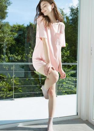 Туника (платье-футболка) женская летняя, домашняя