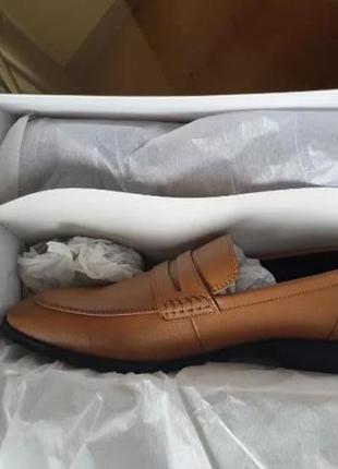 Туфли кожаные calvin klein оригинал  40 р. на ногу 25-25,5 см7 фото