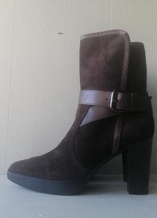 Tod's замшевые ботильоны, ботинки tods