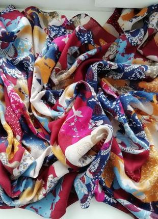 Красивий великий шарф, шаль, палантин!!