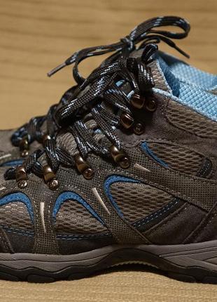 Легкие комбинированные трекинговые ботинки karrimor waterproof breathable 38 р.