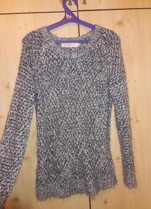 Классный вязаный свитер reserved