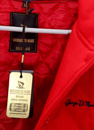 Куртка giorgio di mare, красная, 46й размер