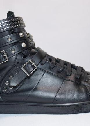 Высокие кроссовки saint laurent 16h studded /ив сен-лоран мужские италия оригинал 42.5р/28