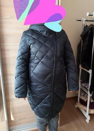 Куртка зимняя удлинённая