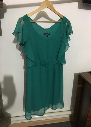 Стильное шифоновое платье ,размер м