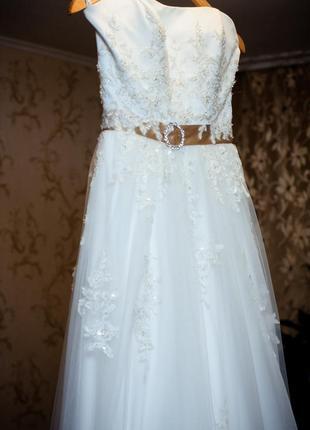 Свадебное платье herms bridal gaia