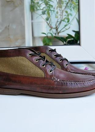 Ботинки туфли sperry top sider
