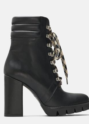 100 % кожа новые zara женские ботинки 35 36 zara женские сапожки 35 36 zara черевики