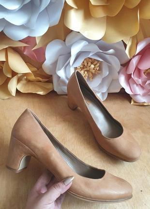 Удобнейшие туфли из натуральной кожи