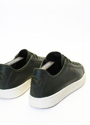 Puma basket classic leather4 фото