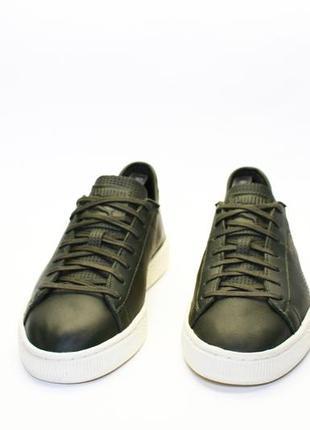 Puma basket classic leather5 фото