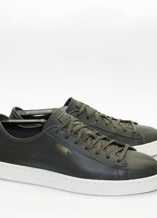 Puma basket classic leather6 фото