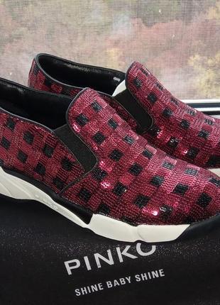 Сникерсы pinko италия, р.38 на 37. новые кроссовки, кеды