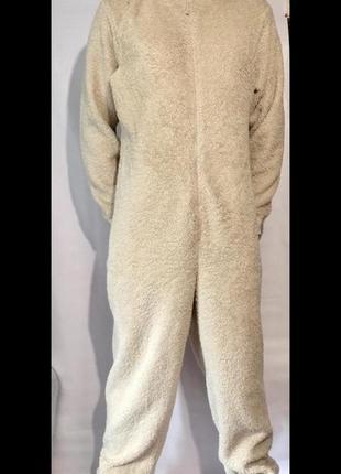"""Тёплая пижама,комбинезон,кигуруми """"мишка''"""