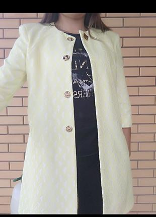 Кардиган накидка пиджак