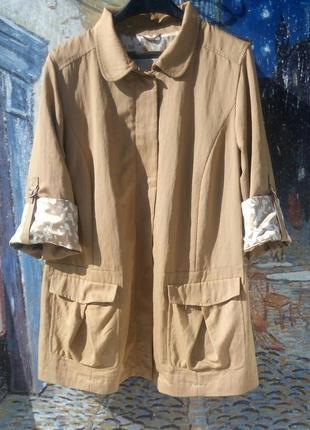 Легенький плащ, куртка 54-56р.